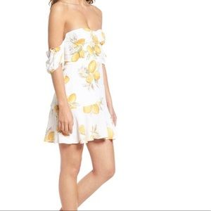 For love and lemons Lemonade off Shoulder dress